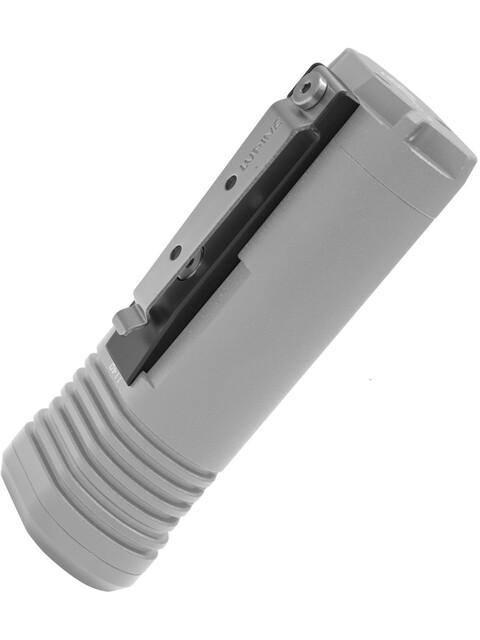 Lupine Gürtelclip sort/sølv